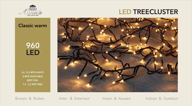 1,9-2,2m treecluster 12,5m/960led classic warm Anna's collection