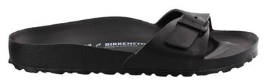 Birkenstock Madrid eva black regular zwart