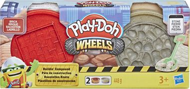 Play-Doh Wheels Buildin Compound Rood/Grijs