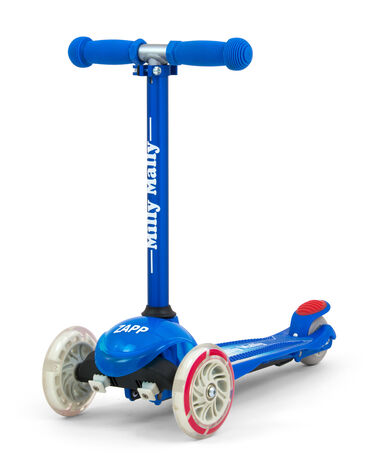 Milly Mally kinderstep Zapp Scooter junior donkerblauw