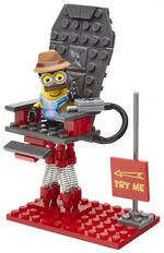 Mega Bloks Minions Massagestoel junior 55-delig