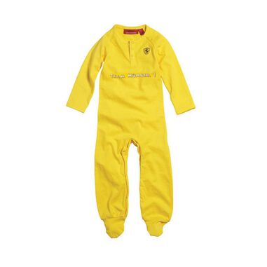 Scuderia Ferrari Baby Night Suit Yellow-164
