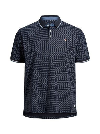 Jack & Jones Plus size polo All-over print