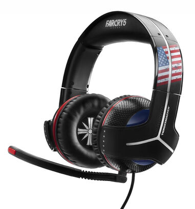 Thrustmaster Y-300CPX Far Cry 5 Edition Stereofonisch Hoofdband Zwart, Blauw, Rood, Wit hoofdtelefoon