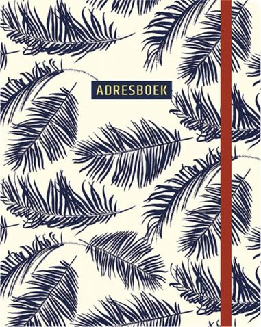 Paperstore: adresboek Botanical Blue