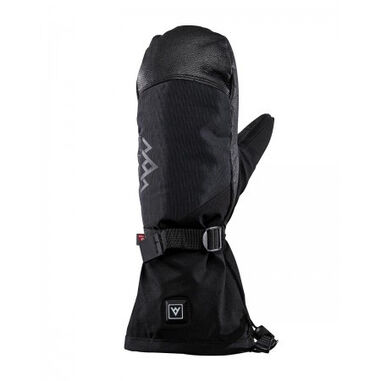 Heat Experience Want unisex heated all mountain mittens black
