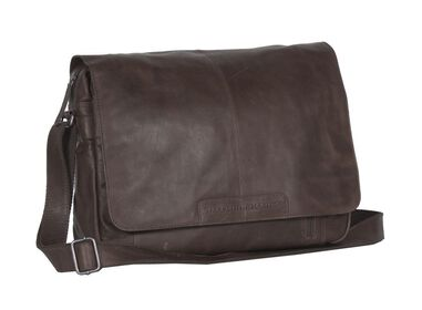 Chesterfield George Casual Messenger Brown 15.6 inch
