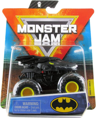 Spin Master Monster Batmobile Kane monstertruck zwart 1:64