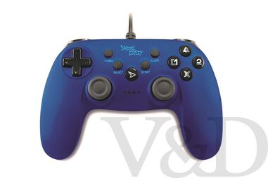 Steelplay Wired Controller Metallic Blue - PC