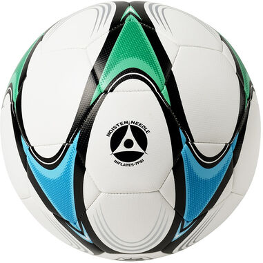 Atipick voetbal rubber maat 5 wit