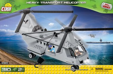 Cobi Small Army Heavy Transport Helicopter 310-delig 2365