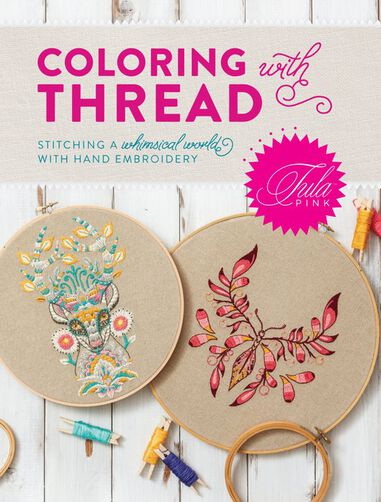 Tula Pink | Boek Coloring with Thread
