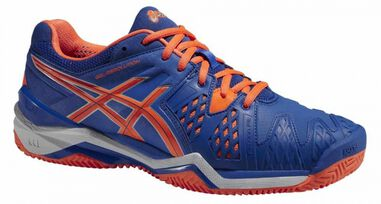 Tennisschoenen Gel Resolution 6 Clay heren blauw