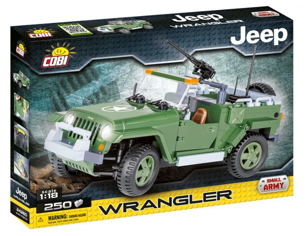 Cobi Small Army Wrangler Military Jeep bouwset (24260)