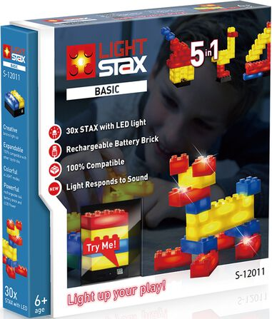 Light Stax Basic V2 mix - 30 stuks