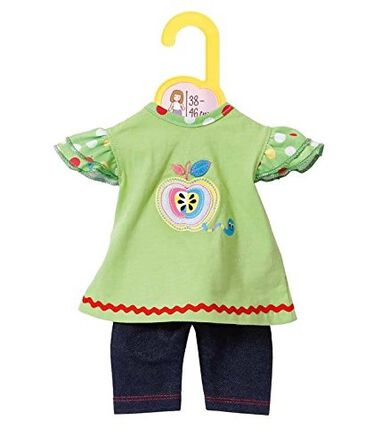 Zapf Creation Dolly Moda jurkje en Leggings groen 38-46 cm