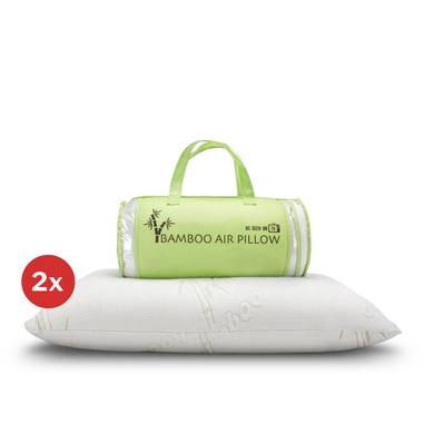 Set van 2 Bamboo Air Pillows