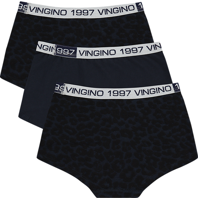 Vingino - Girls - 3-pack Hipsters Leopard Love