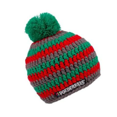 beanie unisex multicolor maat one size