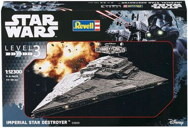 Imperial Star Destroyer Revell schaal 1:12300