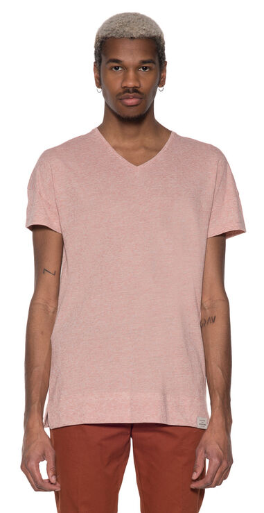 Scotch & Soda T-shirt met korte mouwen roze
