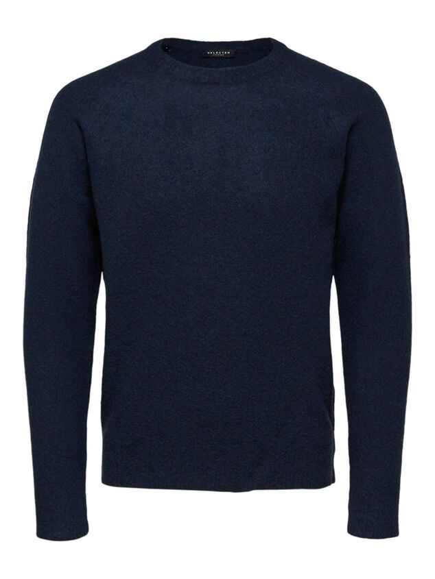 Selected Homme Trui Yak wolmix