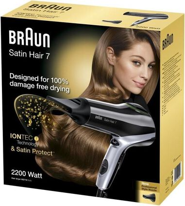 Braun Satin Hair 7 Haardroger - HD 710 Zwart