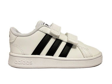 Adidas Sneakers grand court kids wit