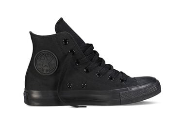 Converse Dames Sneakers All Star Hi Black/Mono Zwart