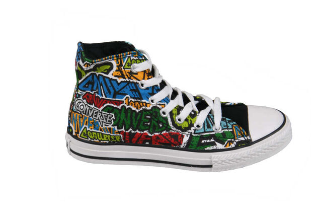Converse Unisex Sneakers CT Metal High Youth Black/Green Multi