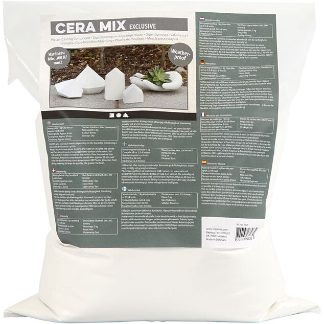 Cera-Mix gipsgietmix exclusive 5 kg wit