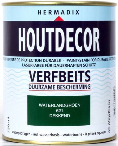 Houtdecor 621 waterland groen 750 ml