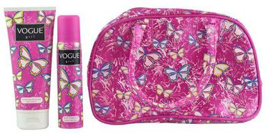 Vogue Girl Geschenkset - Butterfly Deospray + Douchegel