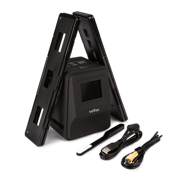 Veho Smartfix Scan to SD Stand Alone Slide and Negative Scanner, 35mm, 126mm and 110mm, 14MP