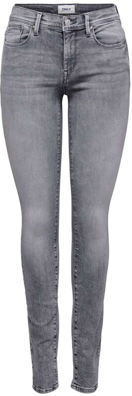 Only Shape life grey skinny jeans