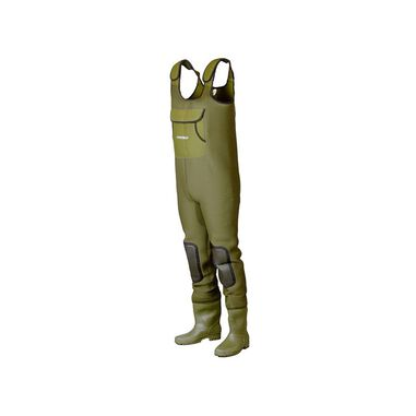 Dam Fighter Pro+ Neoprene Chestwader Cleated Sole | Maat 4