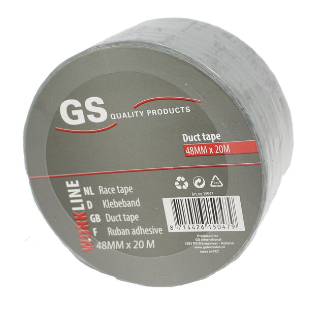 Duct tape / race tape - 20 meter x 48 mm
