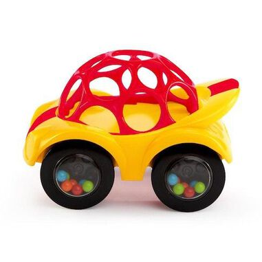 Oball Rattle & Roll auto geel