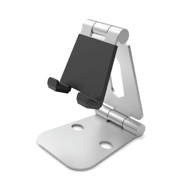 Desire2 View Rotatable Smartphone and Tablet Holder Silver