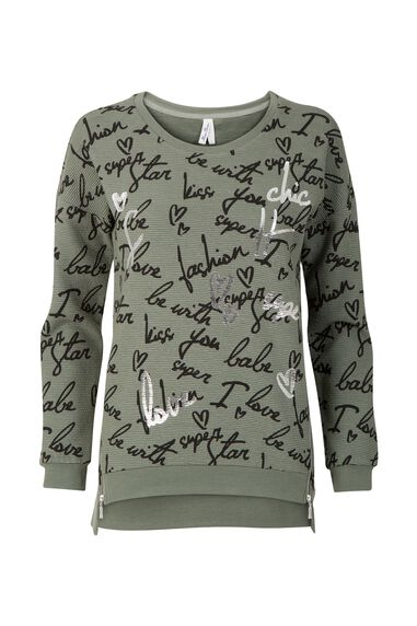 Miss Etam Dames Etam Regulier - Sweater print CLARA