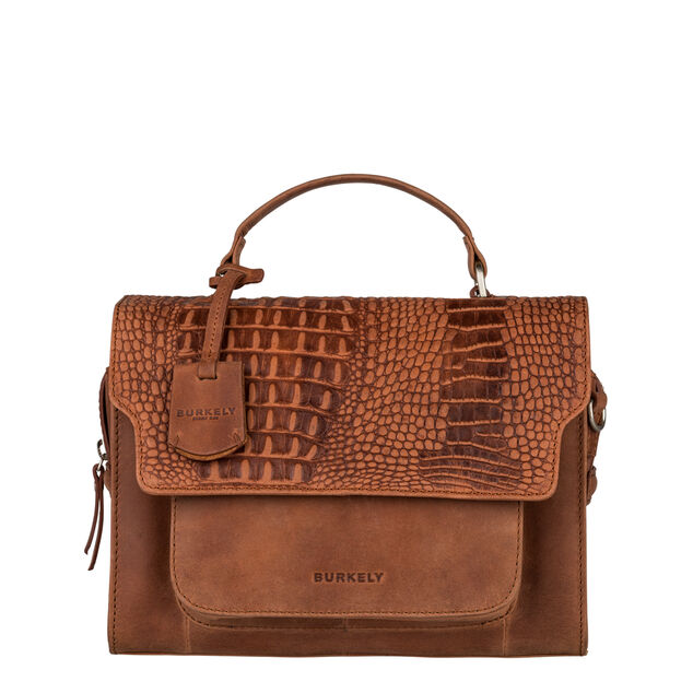 Burkely About Ally Citybag mangrove cognac