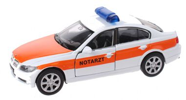 Welly schaalmodel Nex BMW Notartz die-cast wit 11 cm