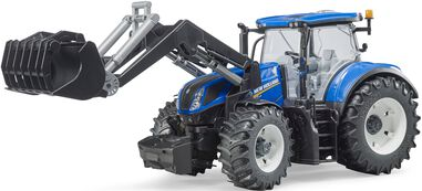 New Holland T7315 met vorklift Bruder