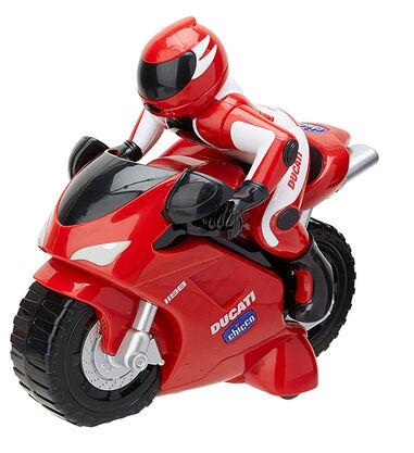 Chicco motor RC Ducati 1198 junior 14 cm rood 2-delig
