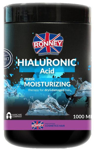 Ronney Professional Mask Hialuronic Complex Moisturizing For Dry And Damaged Hair 1000 ml