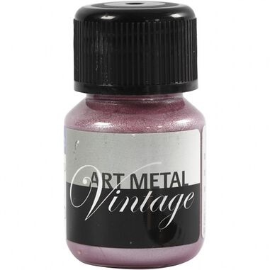Schjerning verf Art Metal 30ml parelmoer/rood