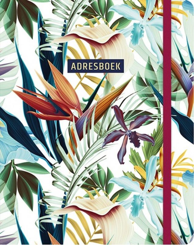 Paperstore: adresboek Tropical