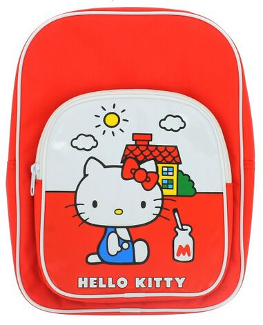 rugtas Hello Kitty rood 5 liter