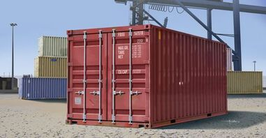 Military 20ft Container