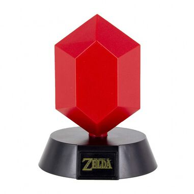 Paladone The Legend of Zelda: Red Rupee Icon Light 10 cm rood